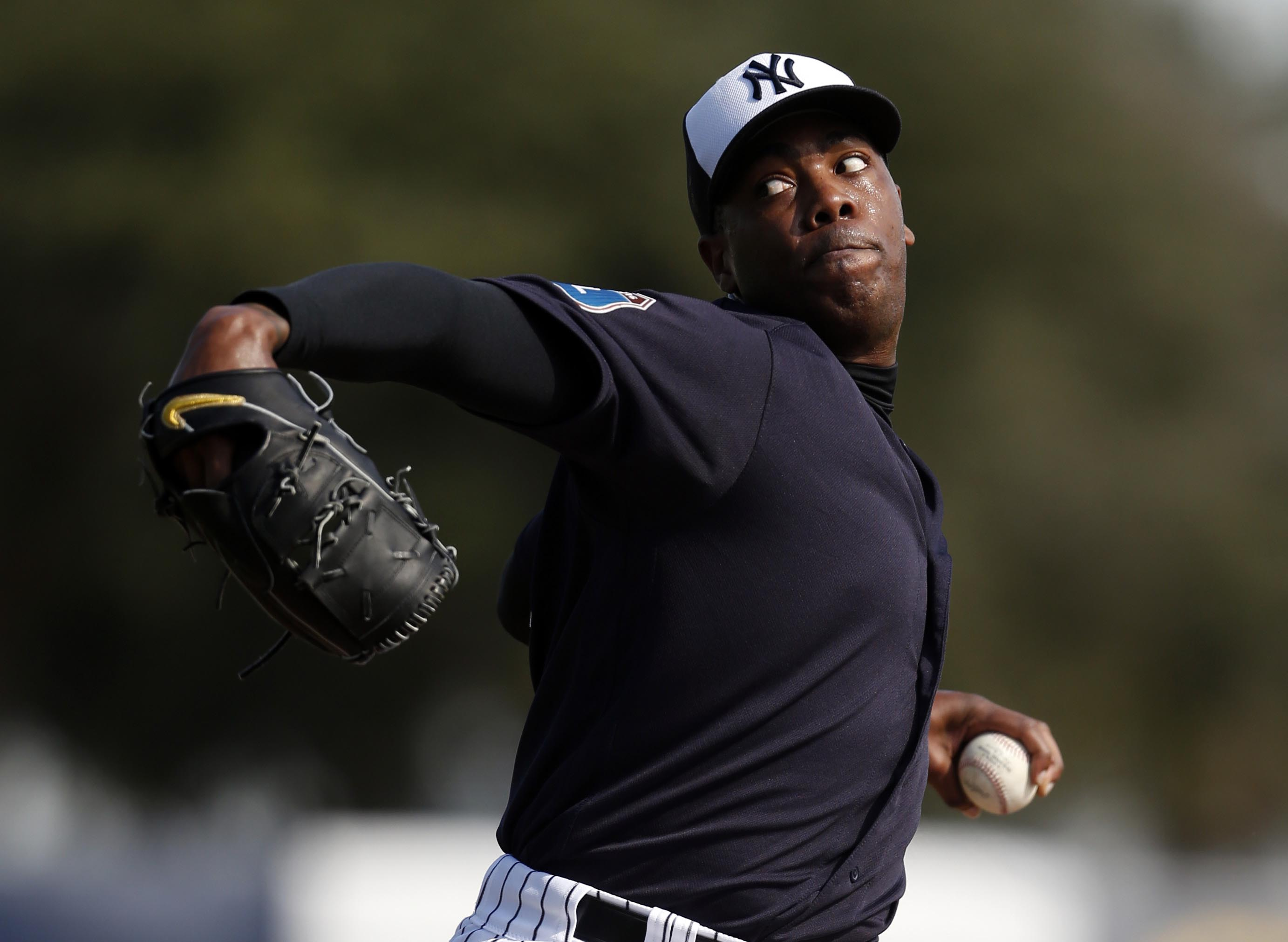 MLB: New York Yankees-Spring Training Workouts